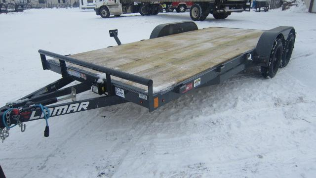 2020 Lamar Trailers 83x18 Car Hauler 7K Flatbed Trailer