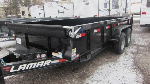 2020 Lamar Trailers 83x16 Low Pro Dump 14K Trailer