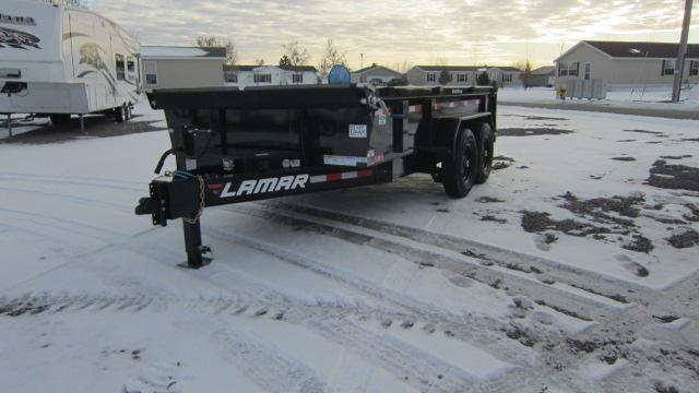 2020 Lamar Trailers 83X14 Low Pro 14K Dump Trailer