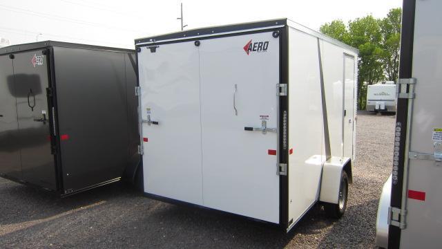 2020 AERO 7X12 V Enclosed Cargo Trailer