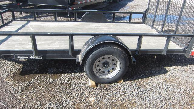 "2019 Other H and W 76""x12' Utility Trailer"