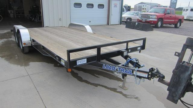 "2020 Load Trail 83""X18' Tandem Axle Carhauler Flatbed Trailer"