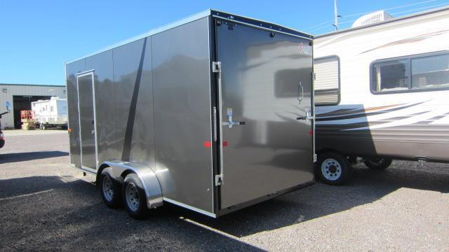 2020 AERO 7X16 V UTV Enclosed Cargo Trailer