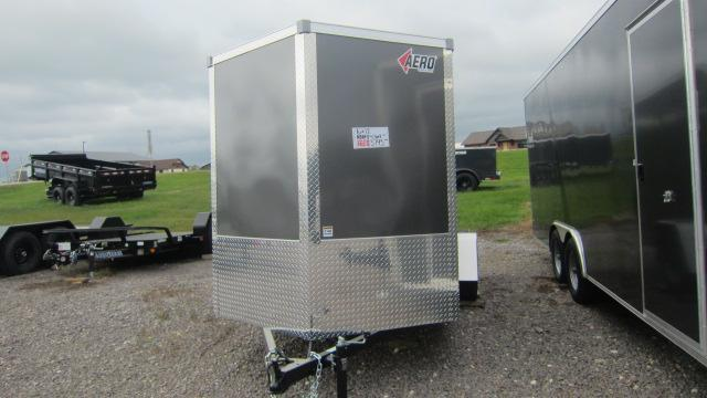 2020 AERO 6X12 Enclosed Cargo Trailer