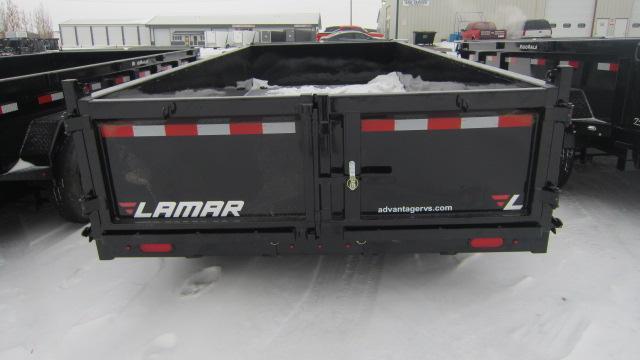 2020 Lamar Trailers 83x16 Low-Pro 14K Dump Trailer