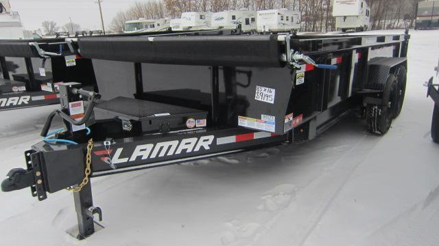 2020 Lamar Trailers 83x16 Low-Pro 14K Dump Trailer