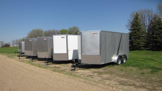 2020 AERO 7x18 V Enclosed Cargo Trailer