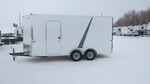 2020 AERO 7X16 V UTV Enclosed Cargo Trailer