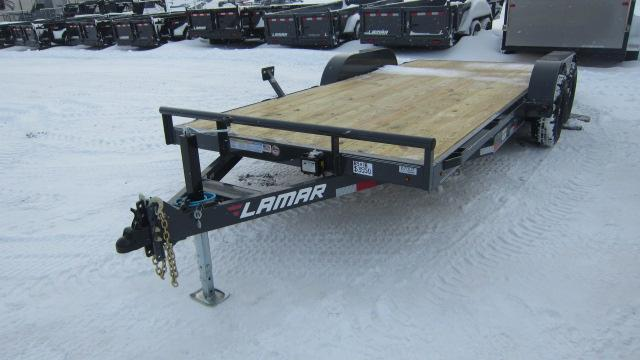 2020 Lamar Trailers 83x18 Car Hauler 10K Flatbed Trailer