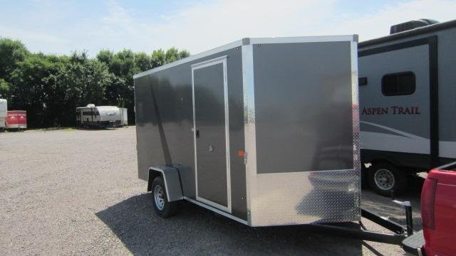2020 AERO 7X12 Enclosed Cargo Trailer