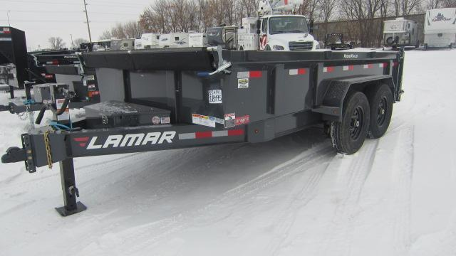 2020 Lamar Trailers 83x14 Low-Pro 14K Dump Trailer