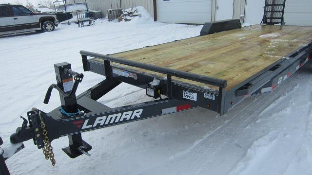 2020 Lamar Trailers 83x22 Equipment Hauler 14K Flatbed Trailer