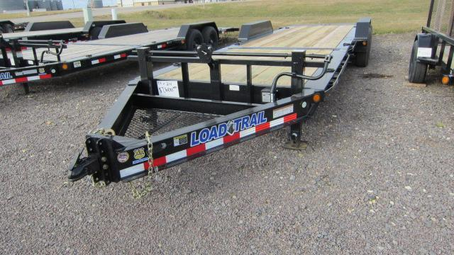 2019 Load Trail 83x24 Tandem Axle Tilt Deck Flatbed Trailer