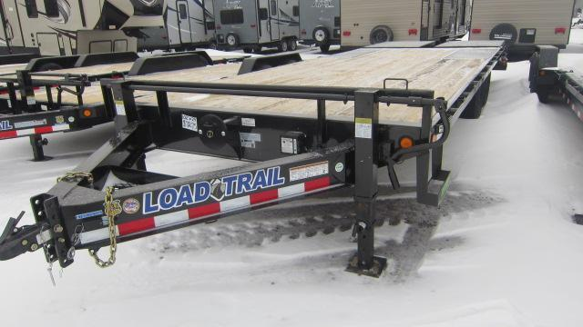 2020 Load Trail 102x24 Tandem Deck-Over Flatbed Trailer