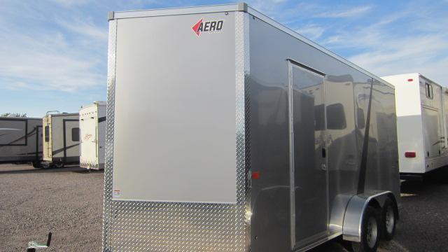 2020 AERO 7X16 UTV Enclosed Cargo Trailer