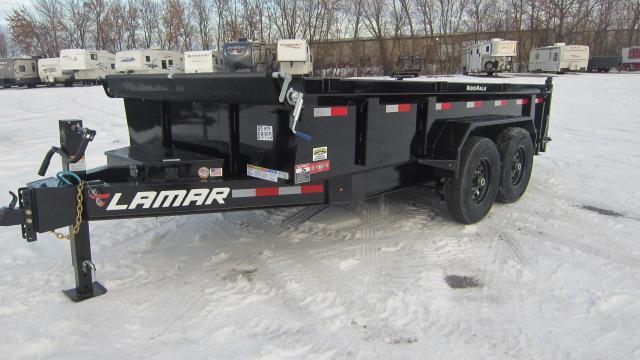 2020 Lamar Trailers 83X14 Low Pro Dump 14K Dump Trailer