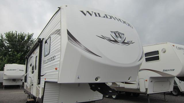 2014 Wildwood 26DDSS Fifth Wheel Campers RV