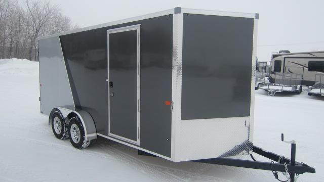 2020 AERO 7X16 V Enclosed Cargo Trailer