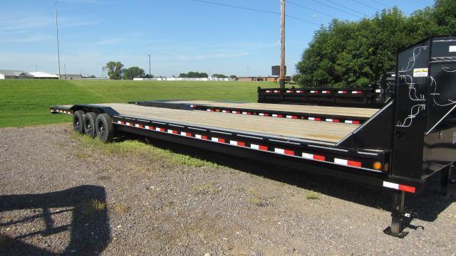2020 Load Trail 102x40 Triple Gooseneck Flatbed Trailer