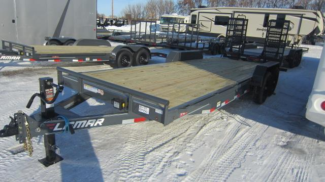 2020 Lamar Trailers 83x22 Equipment Hauler 14K Flatbed Trailer