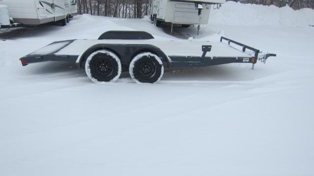 2020 Lamar Trailers 83x16 7K Car Hauler Flatbed Trailer
