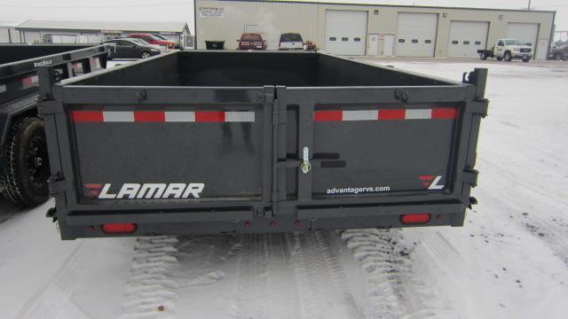 2020 Lamar Trailers 83x14 Low-Pro 14K Dump Trailer