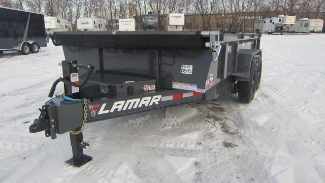 2020 Lamar Trailers 83X14 Low Pro 14K Dump Trailer