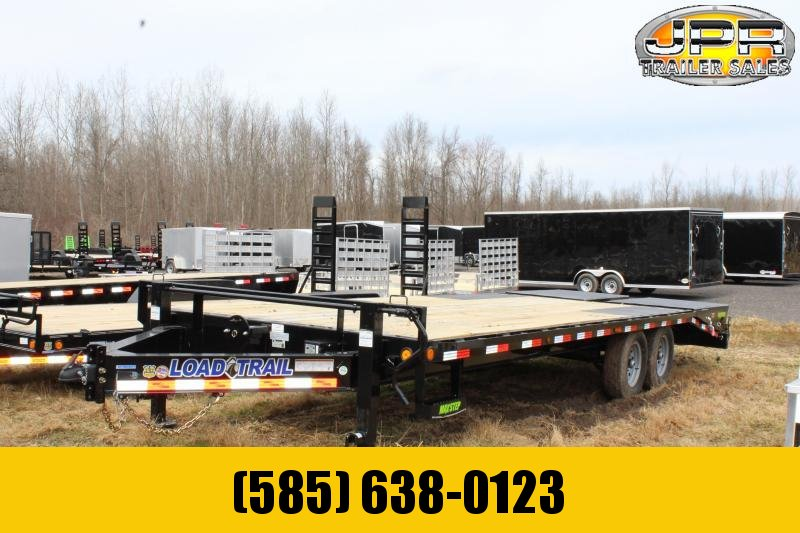 2020 Load Trail 24 Ft Equipment Trailer with Max Ramps Equipment Trailer