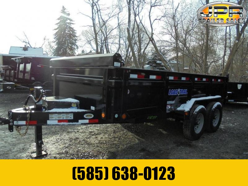 """2020 Load Trail 7X14 Dump Trailer 14K with 24"""" Sides"""