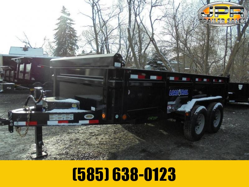 "2020 Load Trail 7X14 Dump Trailer 14K with 24"" Sides"