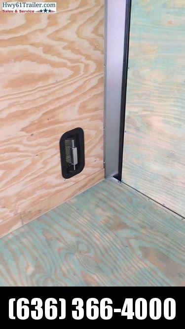 "2020 ARISING 7X12 SA V-nose ramp 3500 lb Axle Lockbar door 7'3"" White"