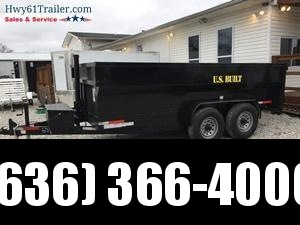 2020 US Built 7X14X4 TA DUMP TRAILER 16K AXLES 4' SIDES WHOLESALE PRICING!