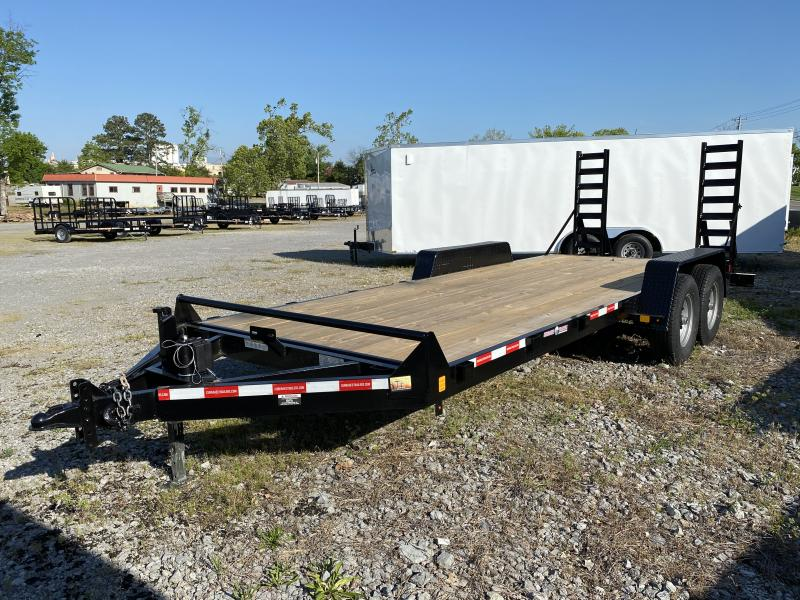 2021  (7 X 20) 14000# GVWR Currahee E720.14KD Equipment Trailer