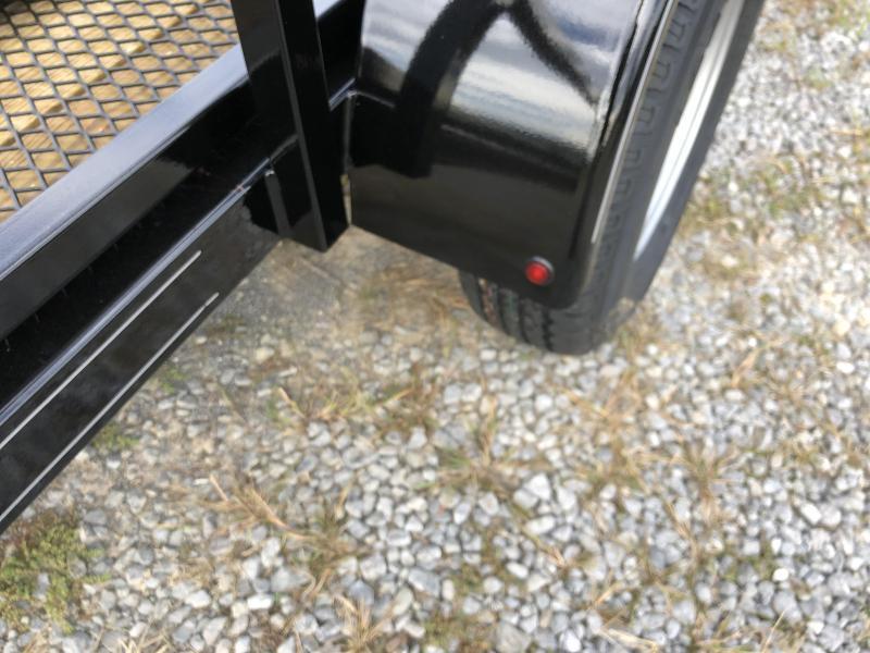 2020 Hustler U1072-15 Utility Trailer (6 x 12)