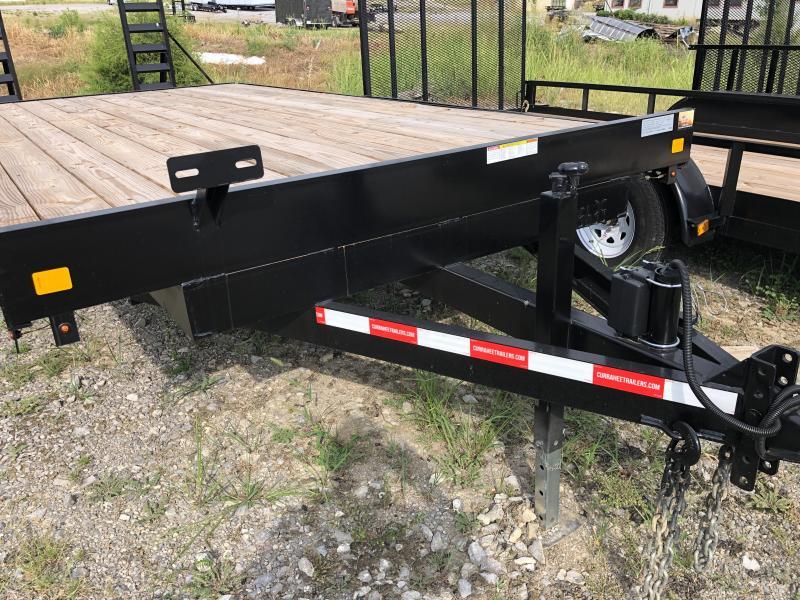 2019 Currahee E820D Equipment Trailer