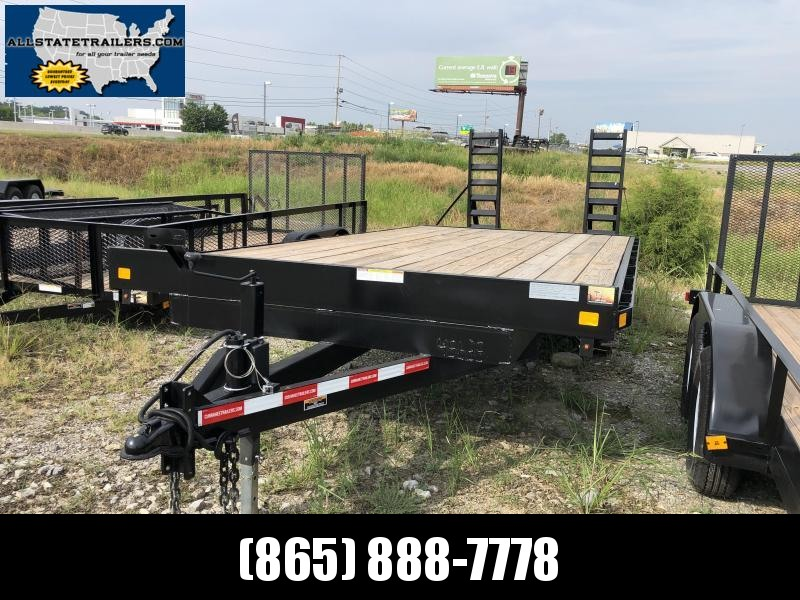 2019 Currahee E820D Equipment Trailer
