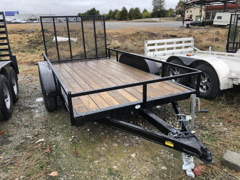 2019 Hustler UT1272-15 Utility Trailer 6 x 12 Tandem