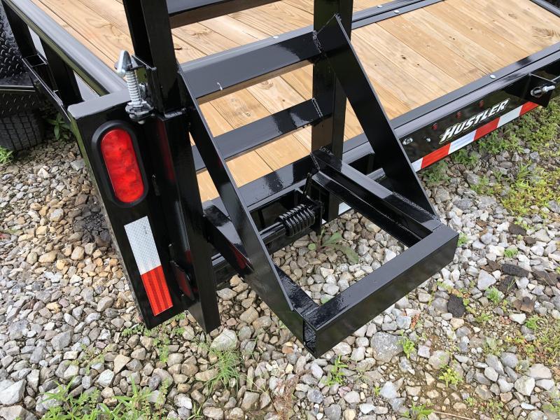 2018 Hustler (7 X 16) 14000# GVWR UT1883EH Equipment Trailer