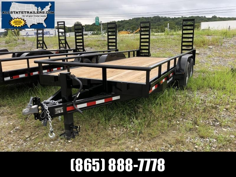 2018 Hustler (7 X 16) 14000# GVWR UT1883EH Equipment Trailer