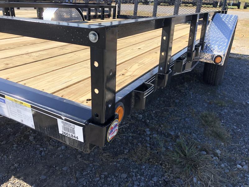 2020 PJ Trailers ( 7 X 12) U8121 Utility Trailer
