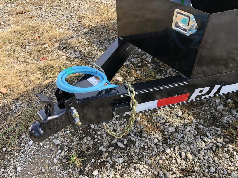 2020 PJ Trailers (7 x 20) TK202 Equipment Trailer