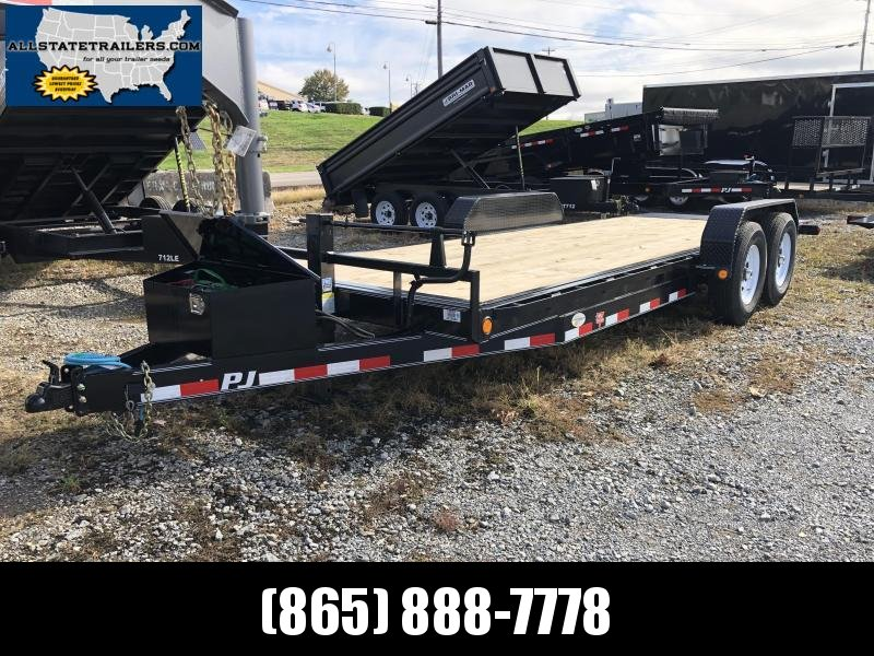 2020 PJ Trailers (7 x 20) TK202 Equipment Trailer