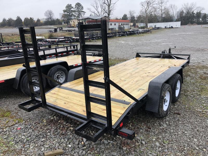 2019  (7 X 16) 10000# GVWR Currahee E716.10KD Equipment Trailer