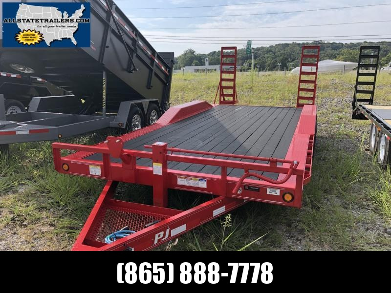 2020 PJ Trailers B6202 Equipment Trailer