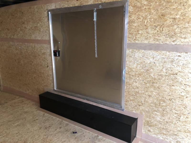 2020 (8.5 X 24) 10000# Enclosed Trailer Ramp Door