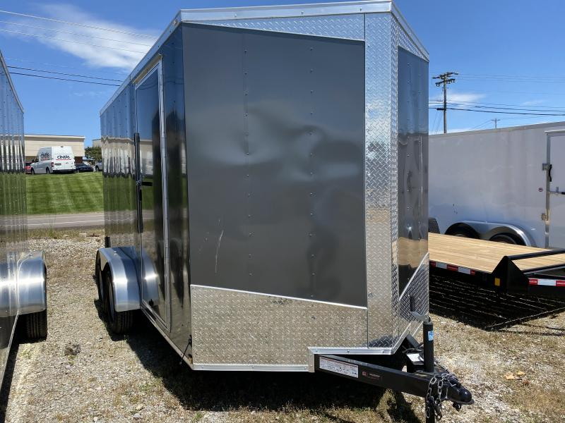 2020 Lark (7 x 14) 7000#GVWR Ramp Door VT714TA Enclosed Cargo Trailer