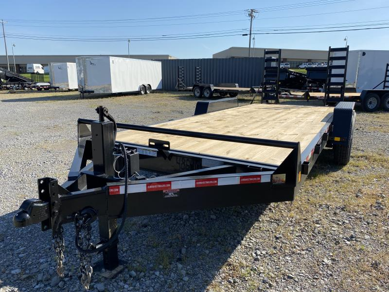 2021  (7 X 20) 16000# GVWR Currahee E720.16KD Equipment Trailer