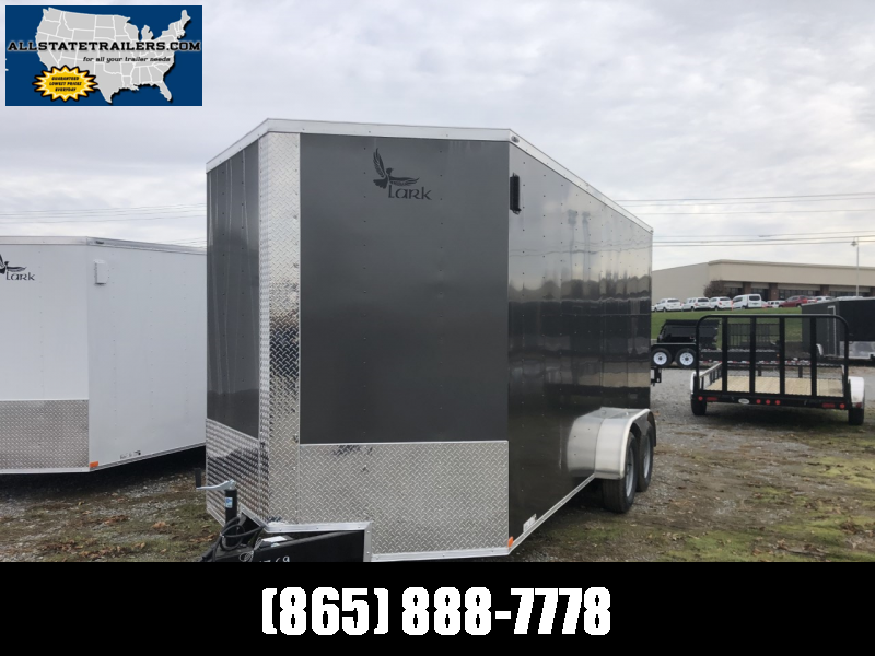 2020 Lark (7 x 16) 7000#GVWR Ramp Door VT716TA Enclosed Cargo Trailer