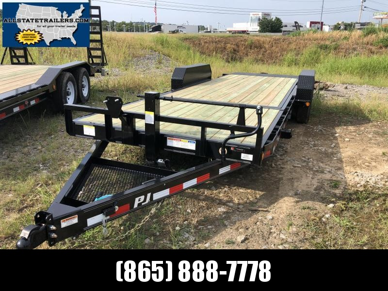 2020 PJ Trailers T6222 Equipment Trailer