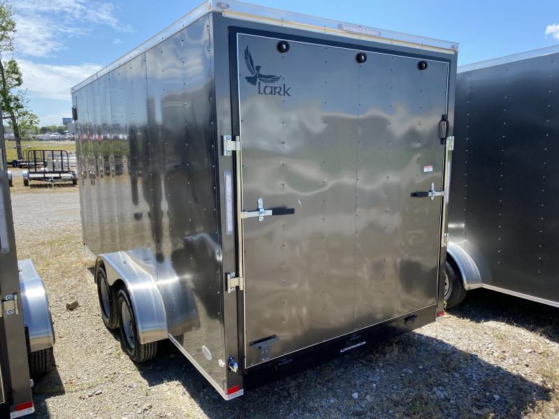 2020 Lark (7 x 16) 7000#GVWR Ramp Door VT716TA Enclosed Cargo Trailer